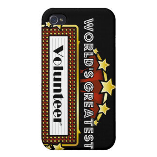 World s Greatest Volunteer iPhone 4 Covers