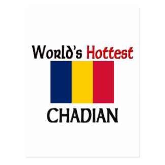 World s Hottest Chadian Postcard