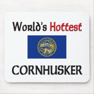 World s Hottest Cornhusker Mouse Mat