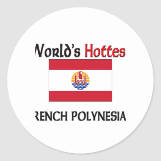 World s Hottest French Polynesian Stickers