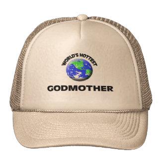 World s Hottest Godmother Mesh Hats