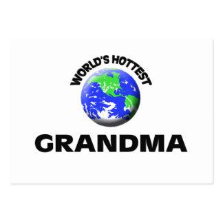World s Hottest Grandma Business Card