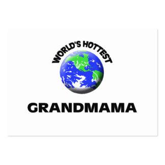 World s Hottest Grandmama Business Card