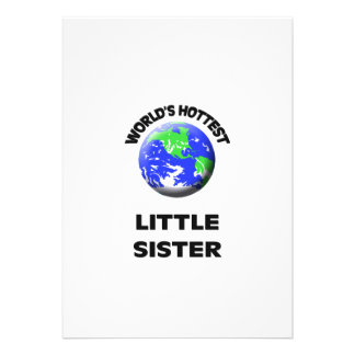World s Hottest Little Sister Cards