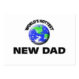 World s Hottest New Dad Business Card