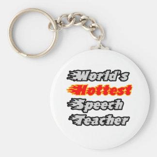World s Hottest Speech Teacher Keychains