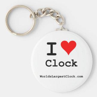 World s Largest Clock Key Chain