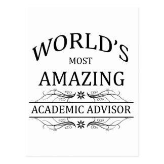 World s Most Amazing Academic Advisor Postcards