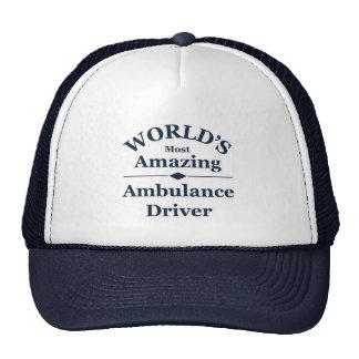 World`s most amazing Ambulance Driver Cap