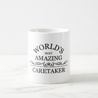 World s most amazing caretaker mugs