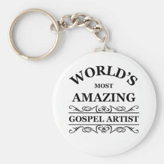 World s most amazing gospel artist keychains