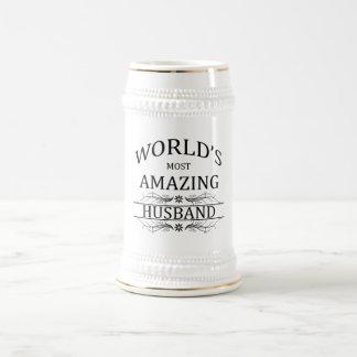 World s Most Amazing Husband Coffee Mugs