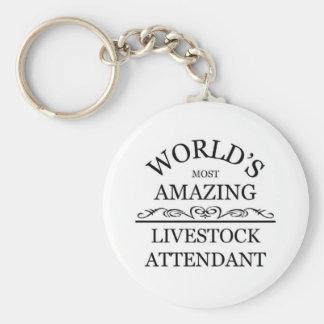 World s most amazing Livestock Attendant Key Chains