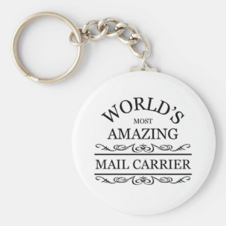 World s most amazing Mail Carrier Key Chains