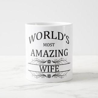 World s Most Amazing Wife Extra Large Mug