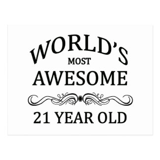 World s Most Awesome 21 Year Old Postcards