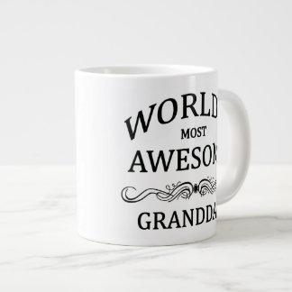 World s Most Awesome Granddad Extra Large Mug