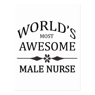 World s Most Awesome Male Nurse Postcards