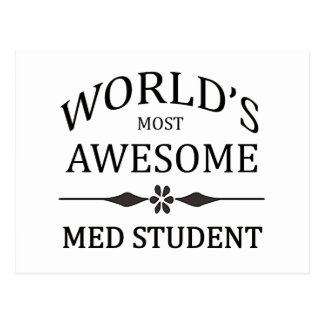 World s Most Awesome Med Student Postcards