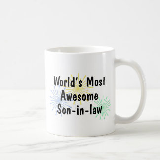 World s Most Awesome Son-in-law Mug