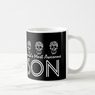 World s Most Awesome SON Zebra Skulls V04 Mugs