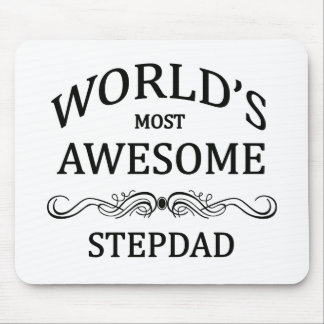 World s Most Awesome Stepdad Mousepad
