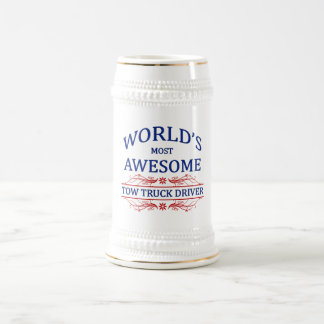 World s Most Awesome Tow Truck Driver Mug