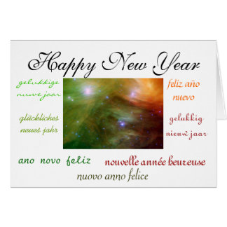World s New Year Greeting Cards