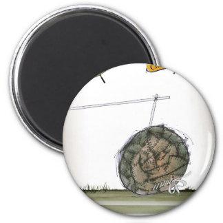 world's oldest football magnet