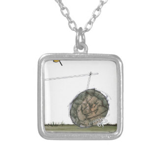 world's oldest football silver plated necklace