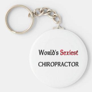 World s Sexiest Chiropractor Keychains