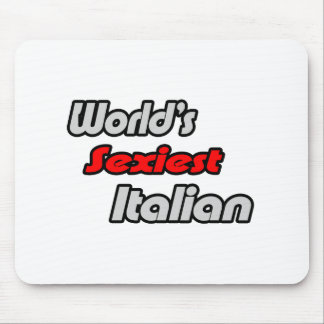 World s Sexiest Italian Mouse Pads