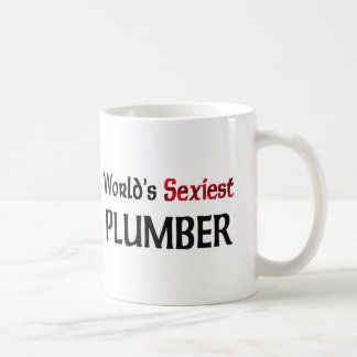 World s Sexiest Plumber Coffee Mug