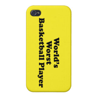 World s Worst Basketball Player iPhone 4/4S Cover