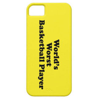 World s Worst Basketball Player iPhone 5 Case