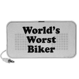 World s Worst Biker Mp3 Speaker