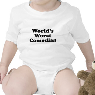 World s Worst Comedian Shirts