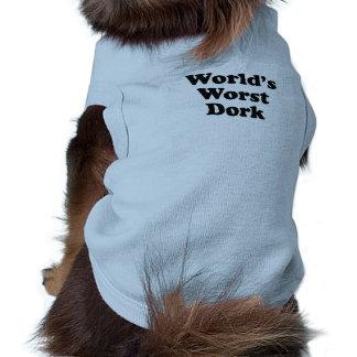 World s Worst Dork Pet Tshirt