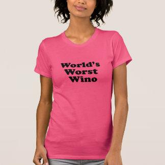 World s Worst Wino Tee Shirts