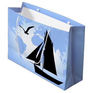 World Sailing Ocean Lg Gift Bag