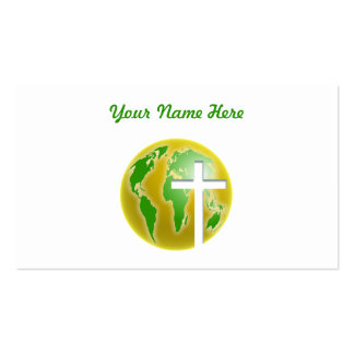World Salvation, Your Name Here Business Cards