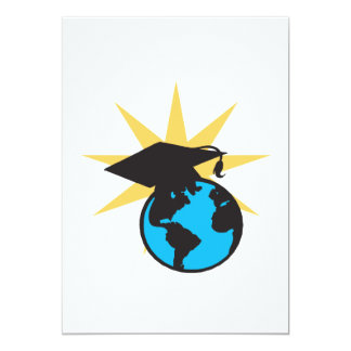 World Scholar 2 13 Cm X 18 Cm Invitation Card
