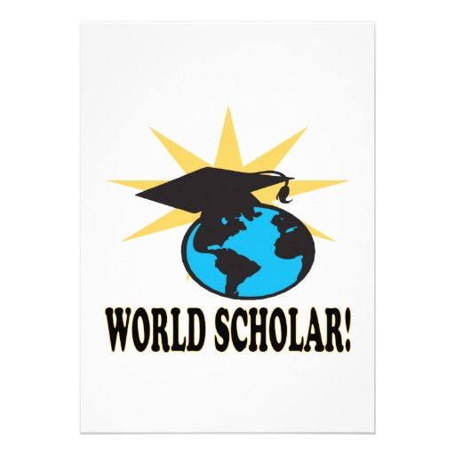 World Scholar 3 Invitation