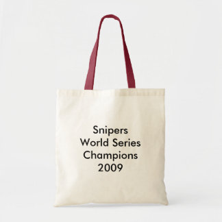 World Series Champions Canvas Bags