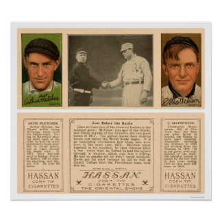 World Series McGraw Giants Baseball 1912 Poster
