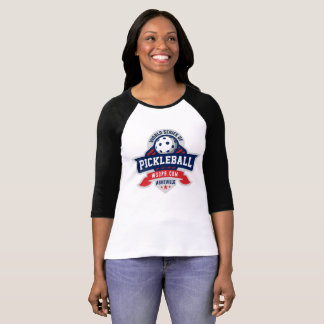 World Series of Pickleball 3/4 Sleeve Raglan T T-Shirt
