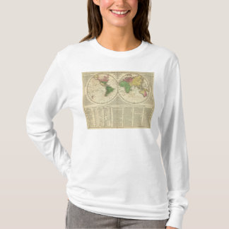 World shown as two hemispheres T-Shirt