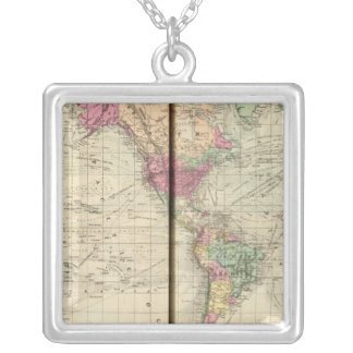 World Silver Plated Necklace