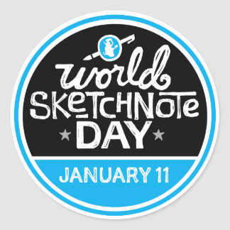 World Sketchnote Day Stickers