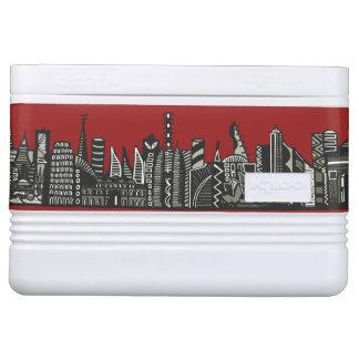 World Skyline Igloo Cooler